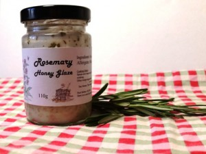 Rosemary Honey Glaze made in Lincolnshire